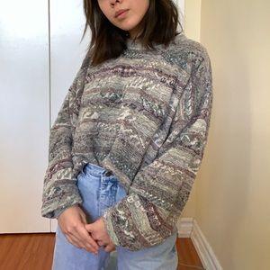Sweaters - Oversized knit